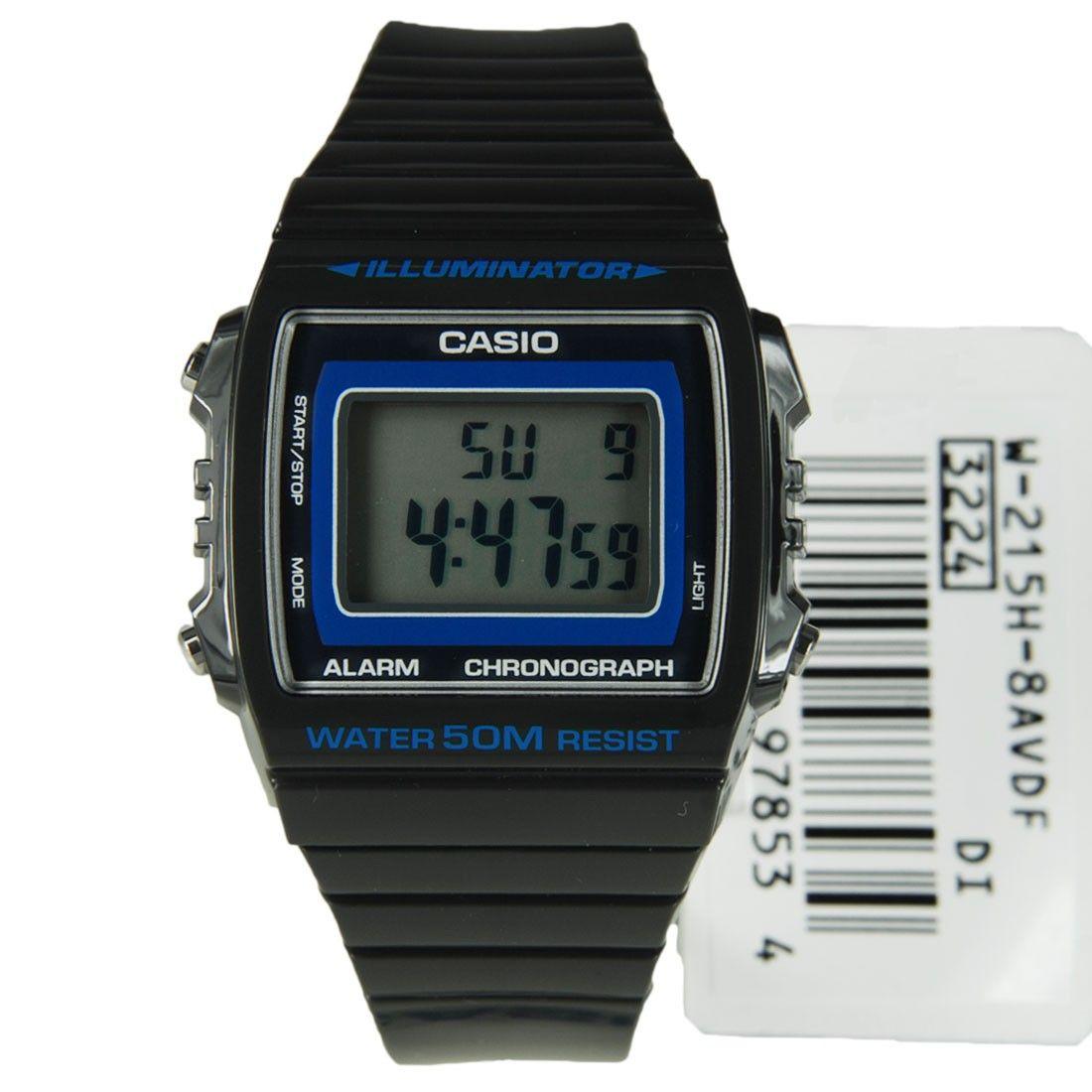 Sports 215h Watch Casio Alarm Grey Illuminator Charcoal 8avdf W dBCxeo