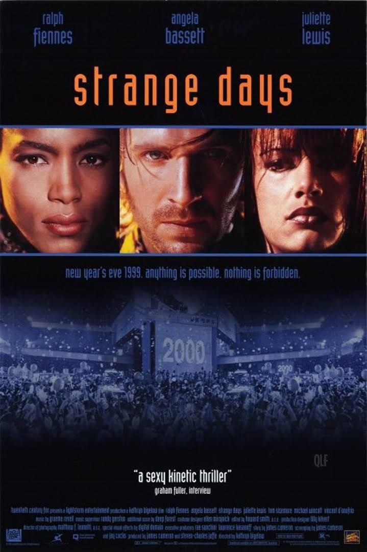 Strange Days 1995 Best Movies In 2019 Movie Posters