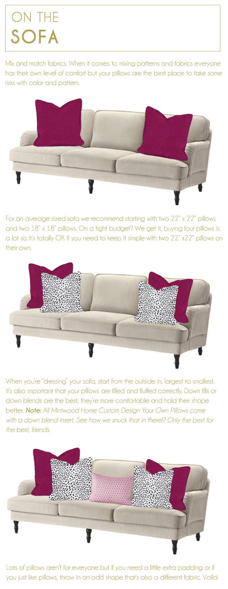 Refreshmint Couch Pillow Arrangement Pillow Arrangement Thow Pillows