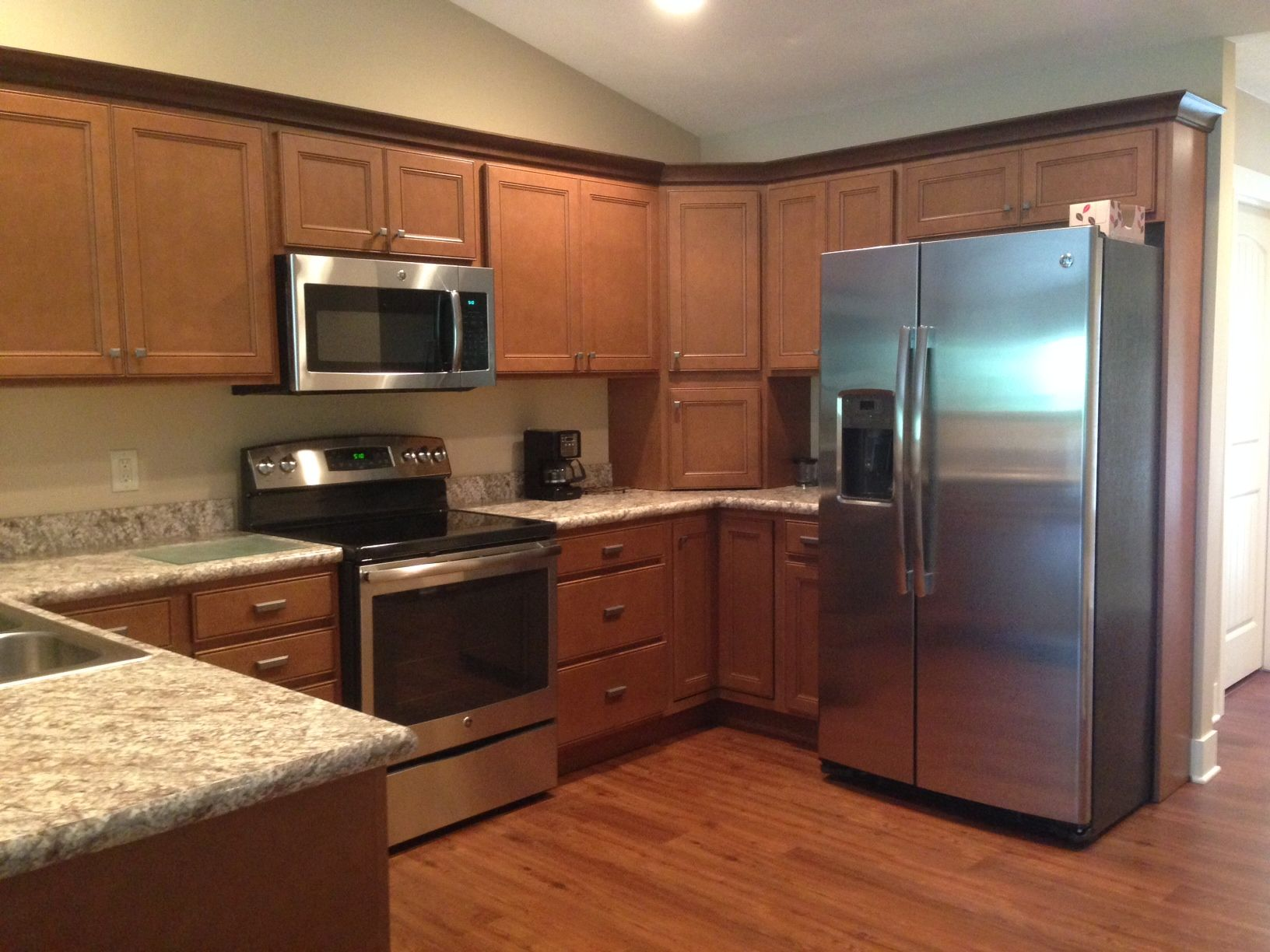 Barry County Lumber Laminate Countertops Maple Cabinets Cabinet