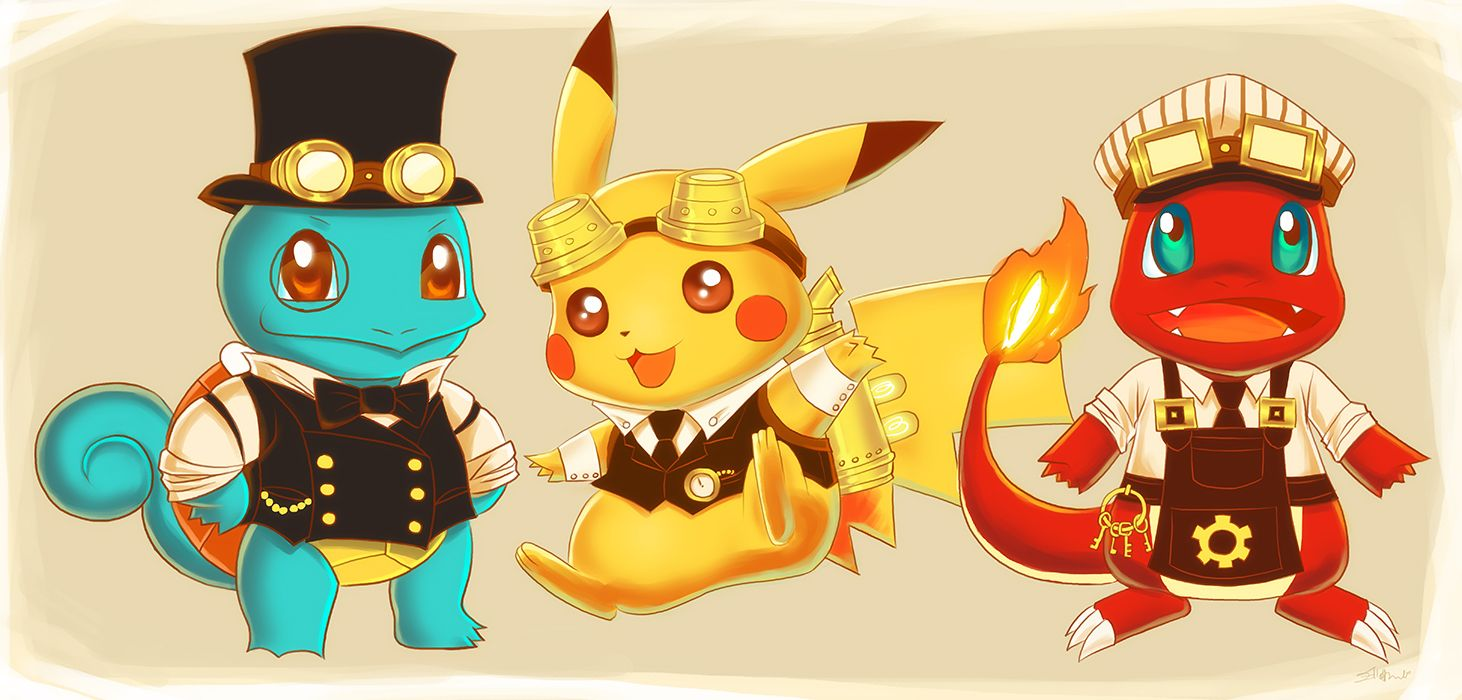 Steampunk Pokemon by dreamwatcher7.deviantart.com on @deviantART