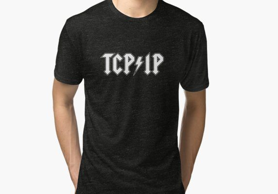 de5c918a TCP/IP band tee Tri-blend T-Shirt | Products | Shirts, T shirt, Mens ...