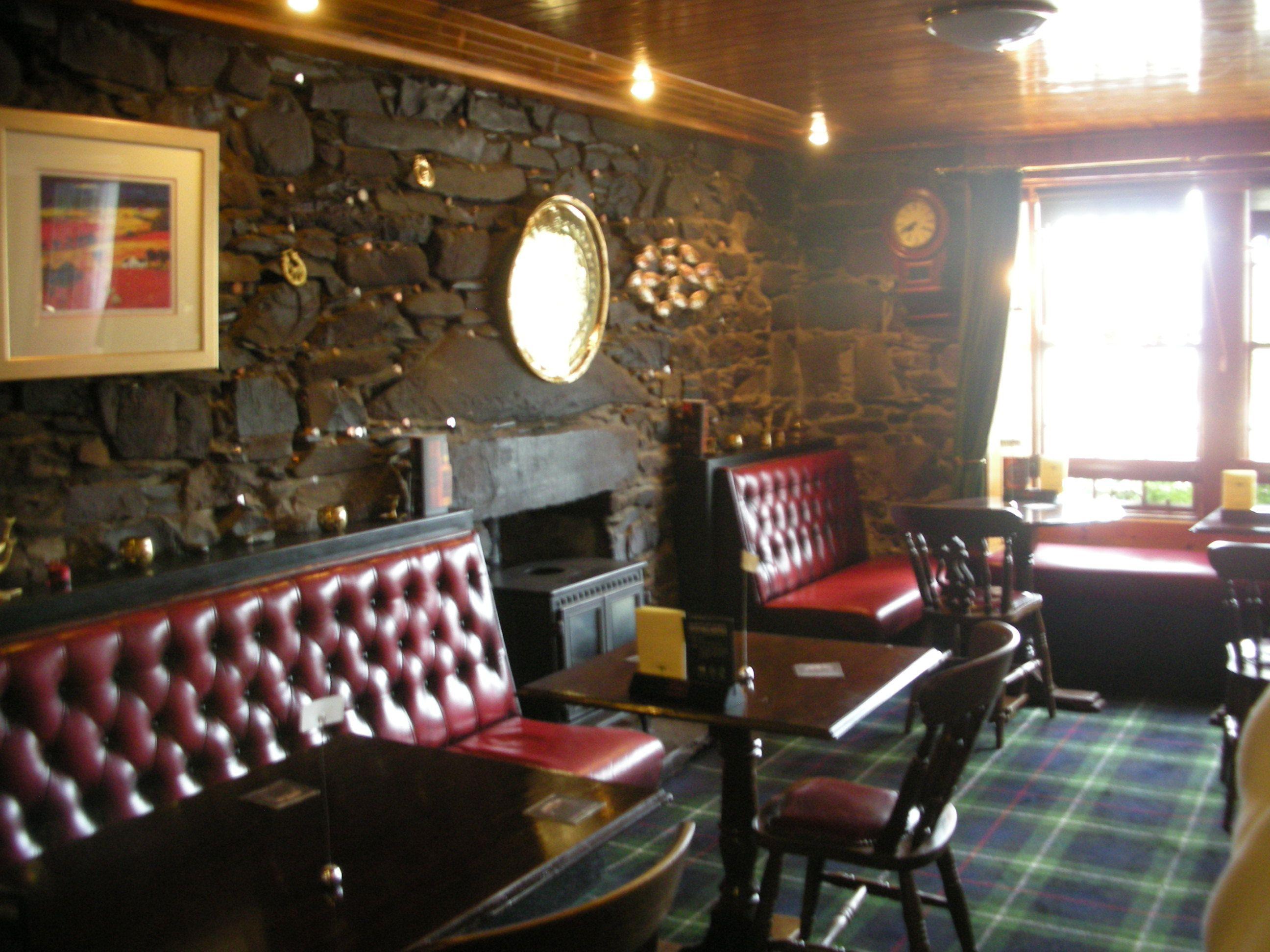 Interior Of The Plockton Hotel S Pub