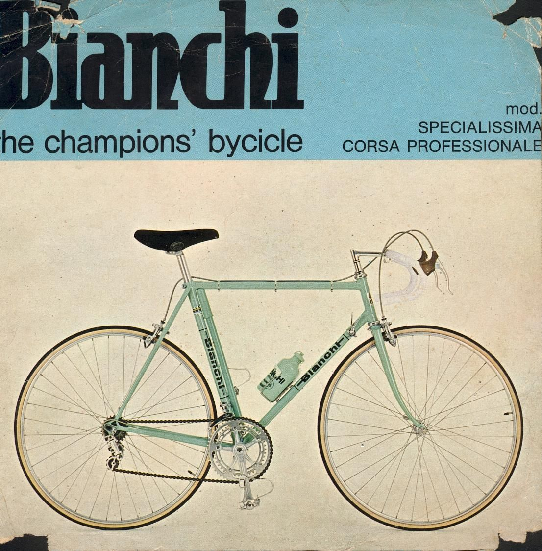 Classicvintagecycling Bianchi Bicycle Road Bike Vintage Bicycle