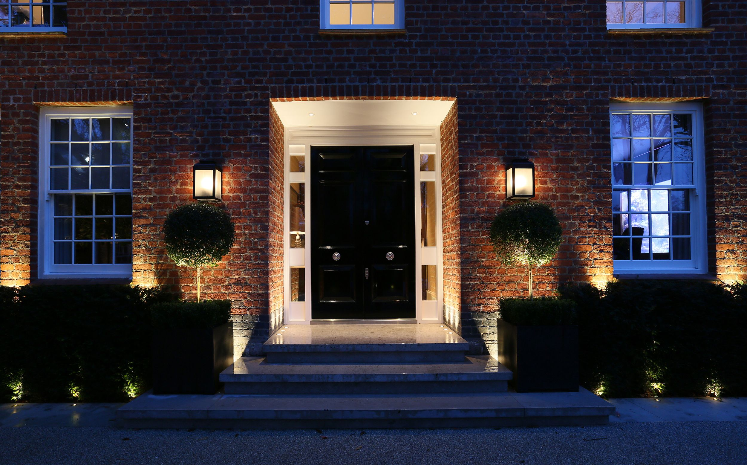Create the right impression with good front door lighting by john create the right impression with good front door lighting by john cullen aloadofball Images