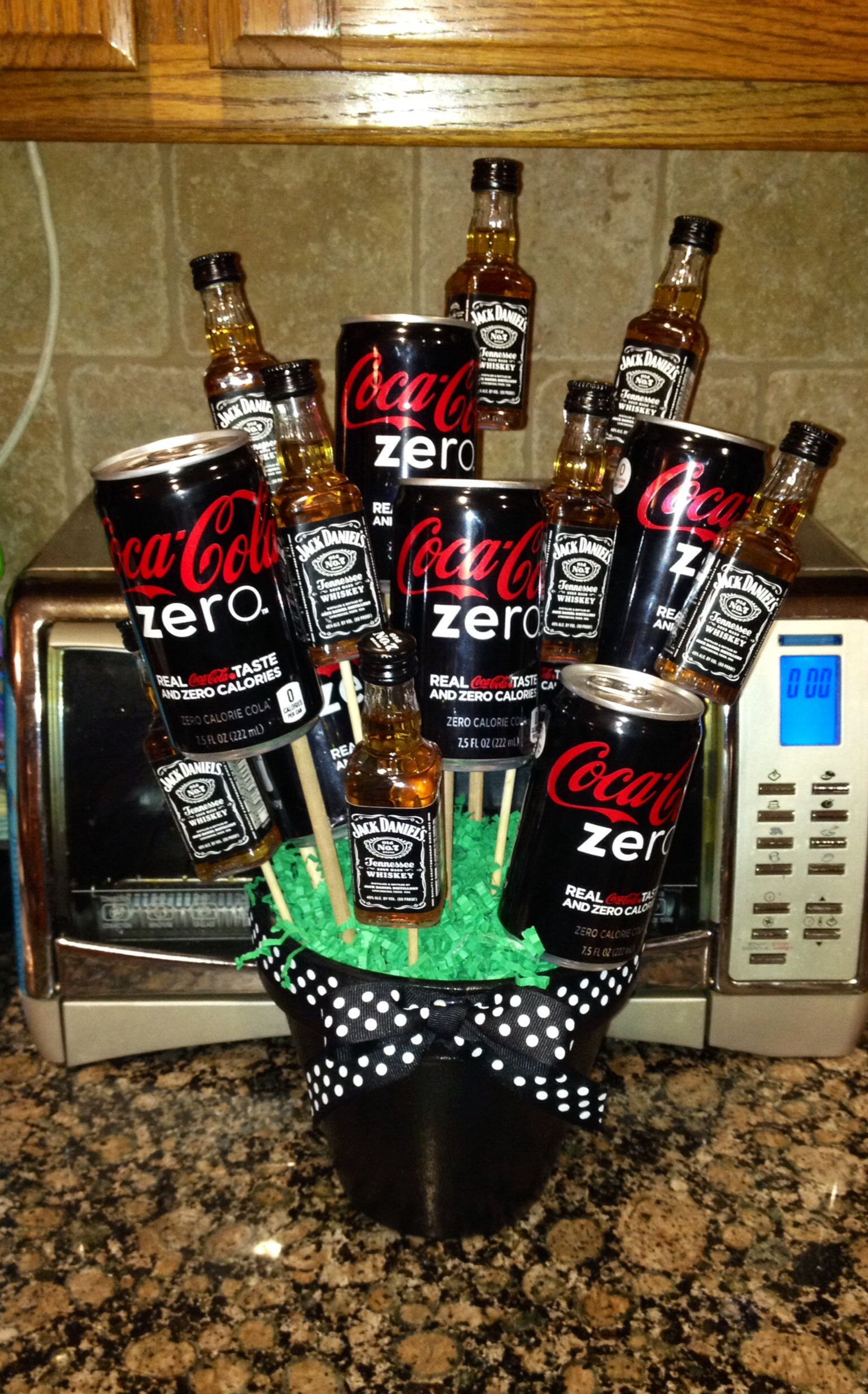Jack And Coke Bouquet Art Whiskey Gifts Mens