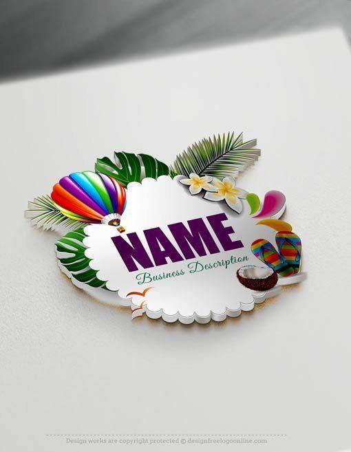 Online Free Logo Creator - Free Online Travel Logo Maker Free logo - work schedule creator free