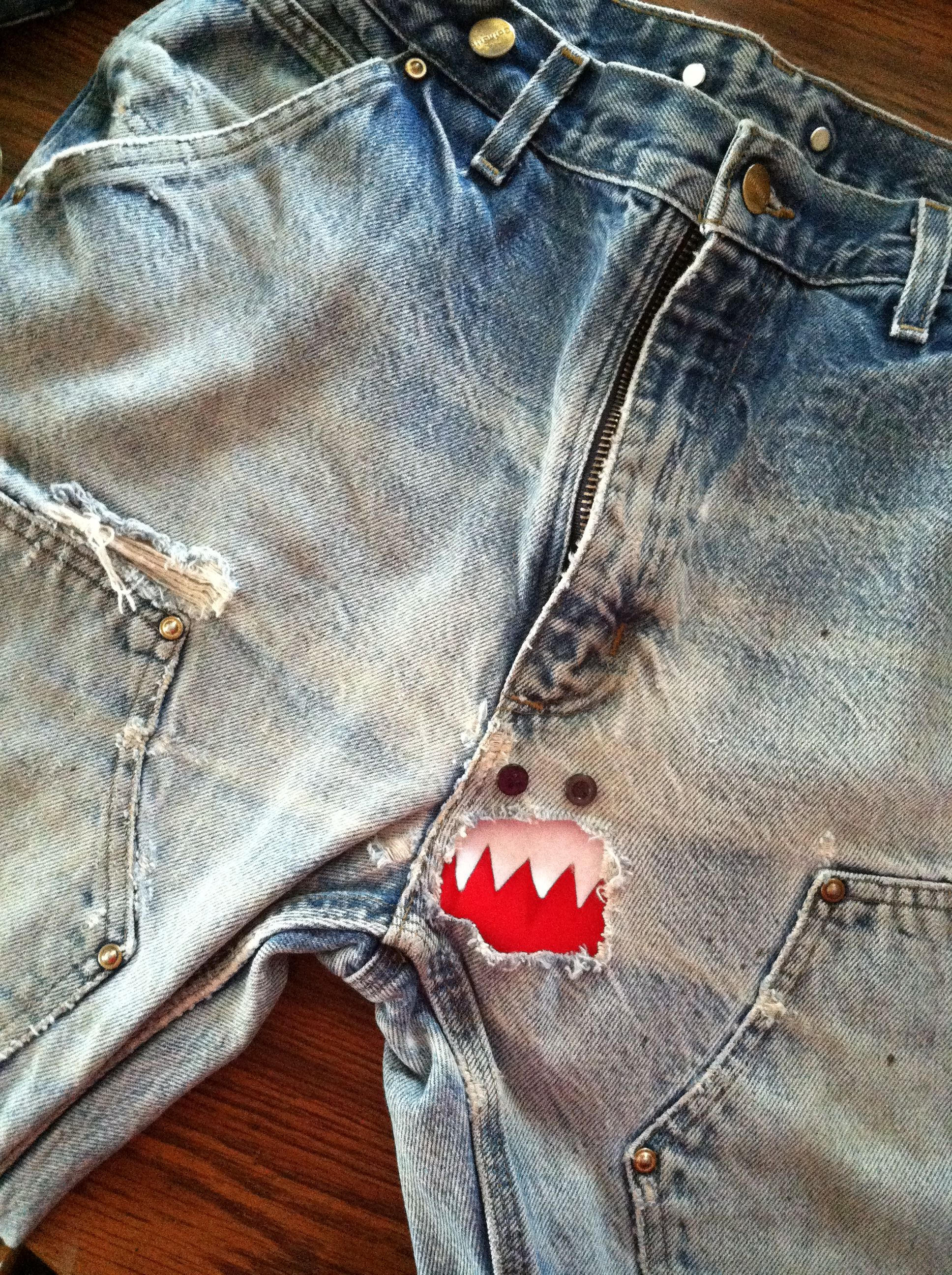 The Right Way To Patch A Crotch Hole In Mens Jeans