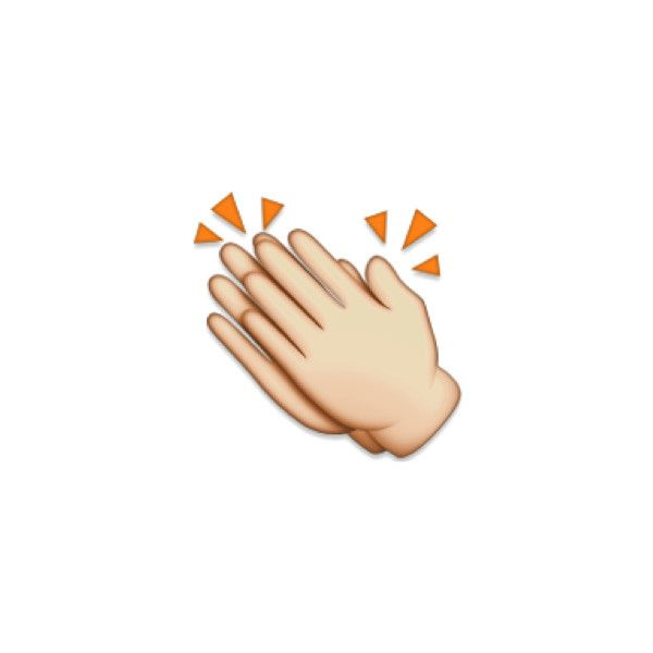 What The Emojis We Use Really Mean As Told By Gifs Liked On Polyvore Featuring Emojis And Fillers Emoji People Hand Emoji Clap Emoji