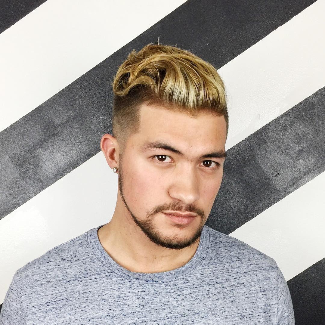 mens hair dye dark blonde model   do   Pinterest   Mens hair dye ...