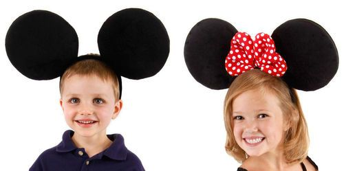 32c2cb57cb5 Disney Oversized Big Mickey Minnie Mouse Ears Headband Costume Hat Adult or  Kids