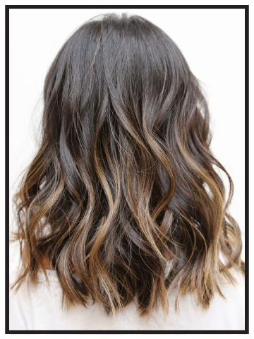 Highlights Partial Hair Styles Hair Lengths Hair Highlights