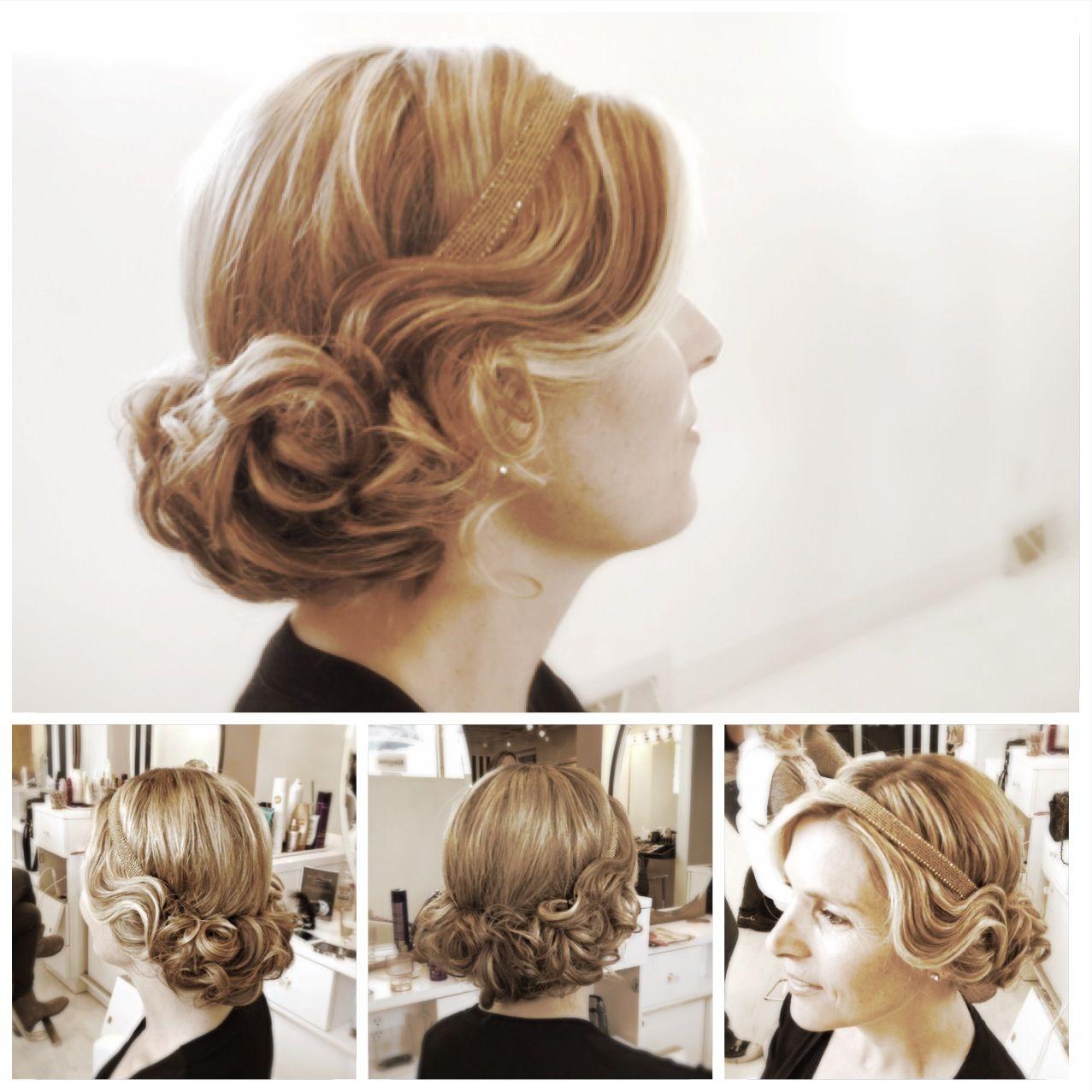20s inspired flapper updo | Hair beauty, Hair makeup, Hair ...
