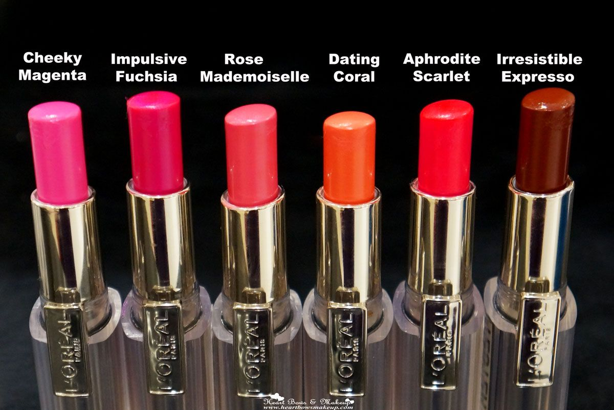 Loreal color caresse by color rich lipstick - Loreal Rouge Caresse Lipstick Swatches 4 Jpg 1200