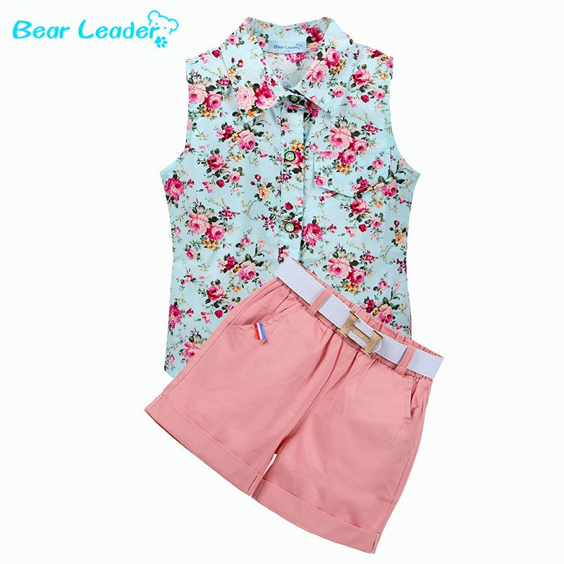da7c713baa9689 Bear Leader Kids Clothes 2017 Fashion Sleeveless Summer Style Baby ...