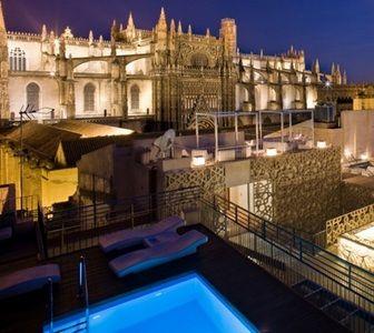 Sonar Con Africa En Eme Catedral Hotel Piscina En La Azotea Hotel Sevilla