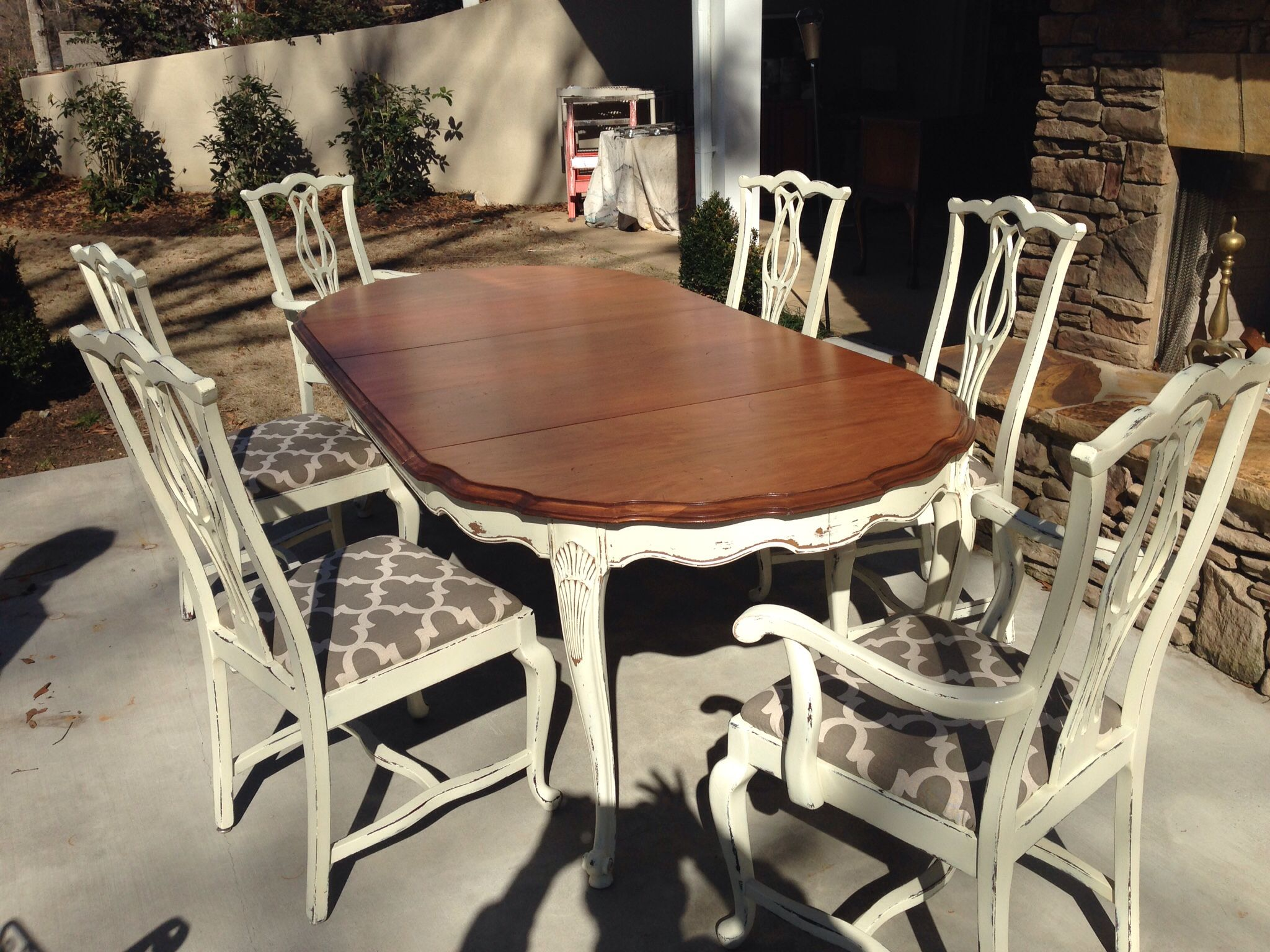 Fabulous White Of Mebane Dining Set This Never Made It