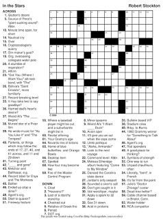picture about Daily Printable Crossword titled uncomplicated printable crossword puzzles Housewarming printable