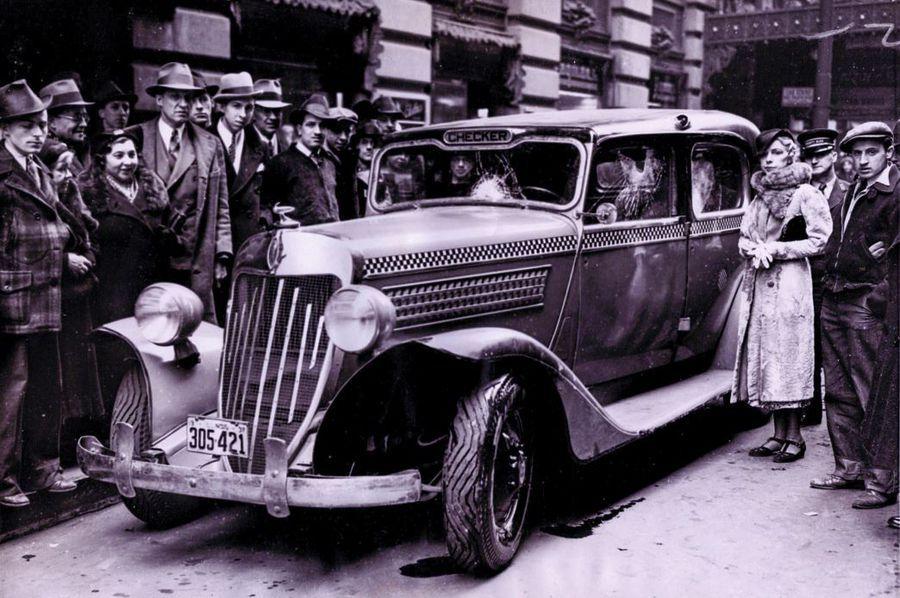 1937 Checker Cab Model Y. in 2020 Checker cab, Checker