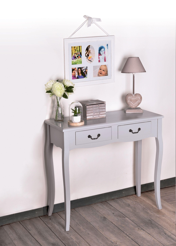 Centrakor - console 2 tiroirs, pêle-mêle 5 phots | Mes meubles et ma ...
