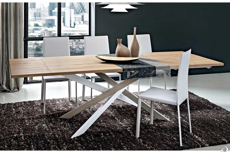 Tavolo da soggiorno allungabile Zeron | TopArredi | Tavolo ...