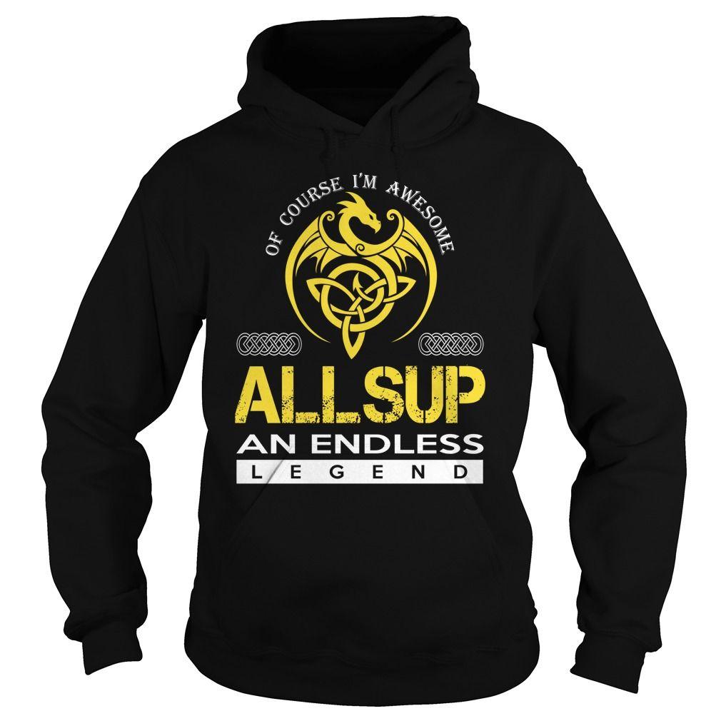 ALLSUP An Endless Legend (Dragon) - Last Name, Surname T-Shirt