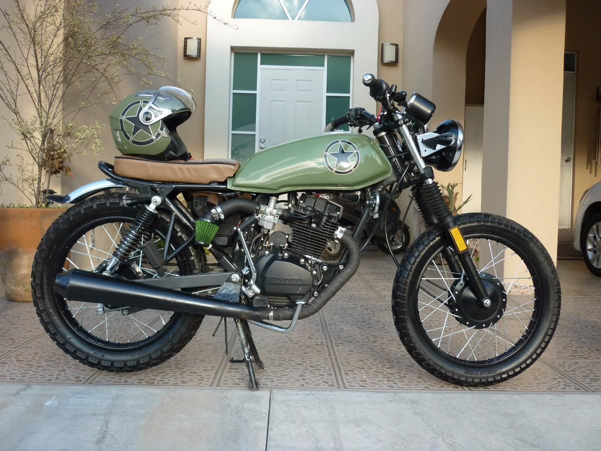 honda cgl 125 cafe racer buscar con google cafe racer. Black Bedroom Furniture Sets. Home Design Ideas
