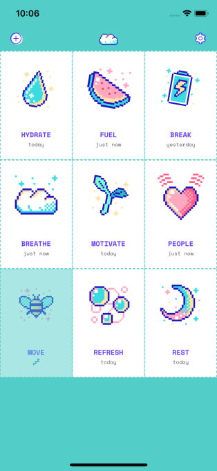 Aloe Bud is the adorable self-care app you've been waiting for in