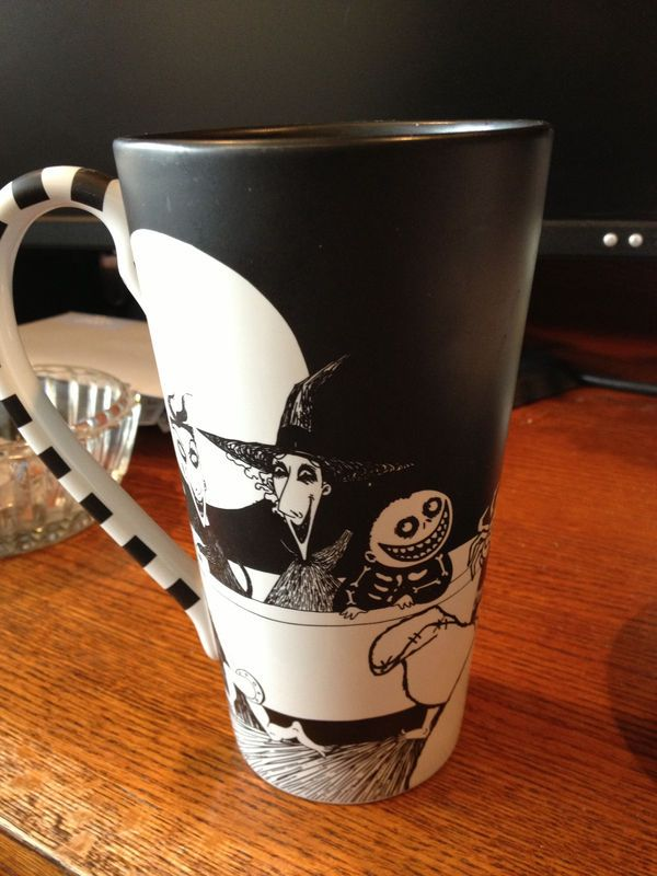 disney nightmare before christmas mug rare