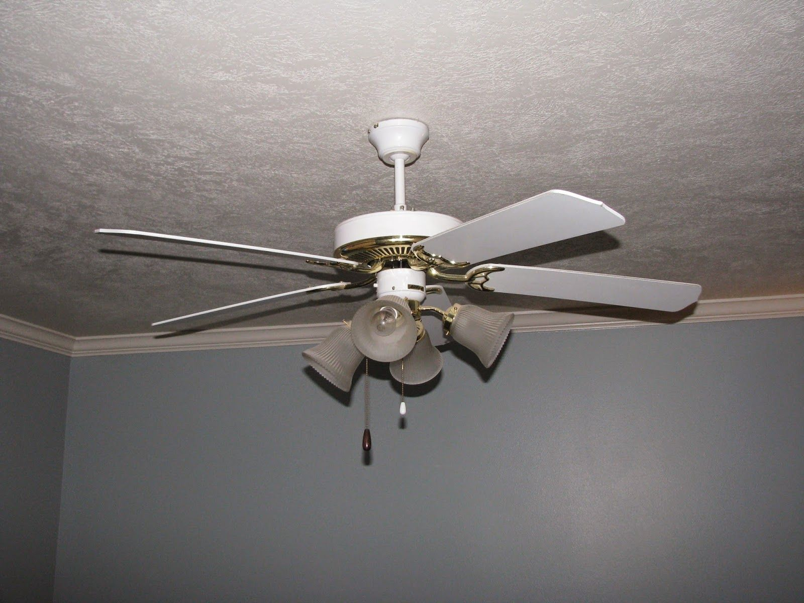 updating a ceiling fan diy style light fixtures chandelier with foldable blades