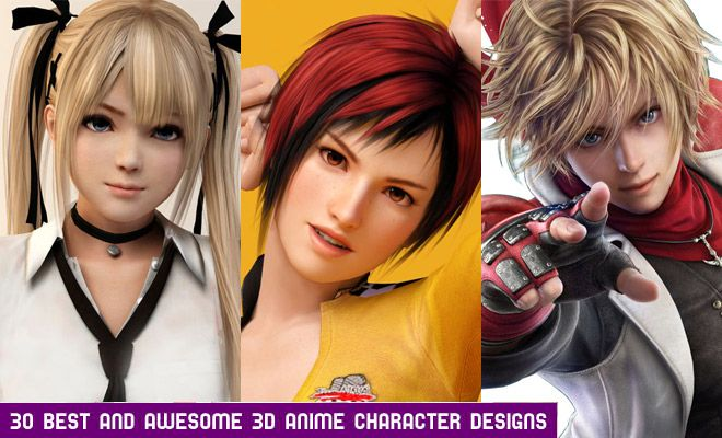 Design Your Anime Character : 30 best 3d anime characters designs for your inspiration anime