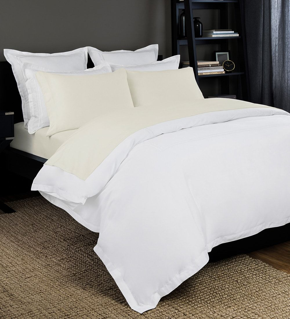 Solid Jersey Sheet Set In Ivory Luxury sheets, Bed, Cool