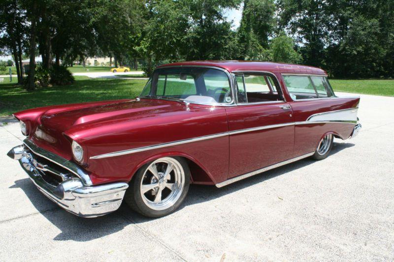 1957 Chevrolet Nomad Custom Street Rod Full Air Ride Ebay