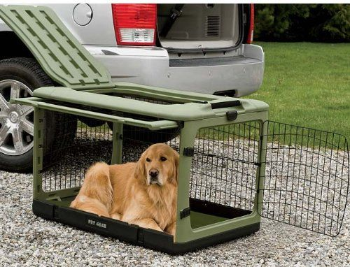 Orvis Collapsible Dog Travel Crate Small Sage Small Review