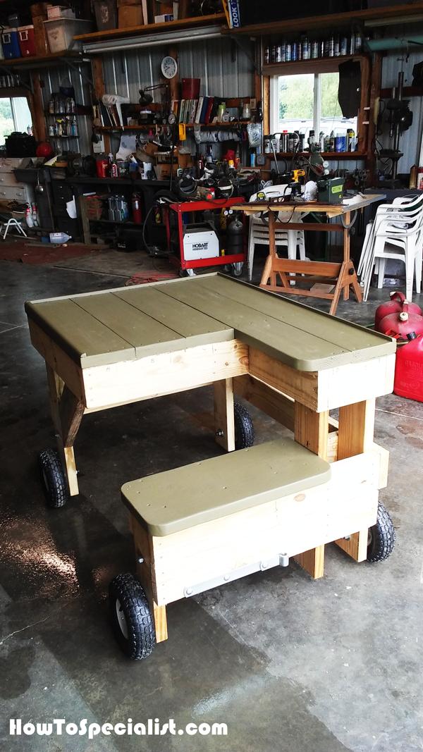Diy Shooting Bench On Wheels Shooting Bench Shooting Bench Plans Shooting Table