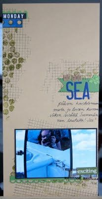 "ninarsku.: 6x12"" scrapbook layout"