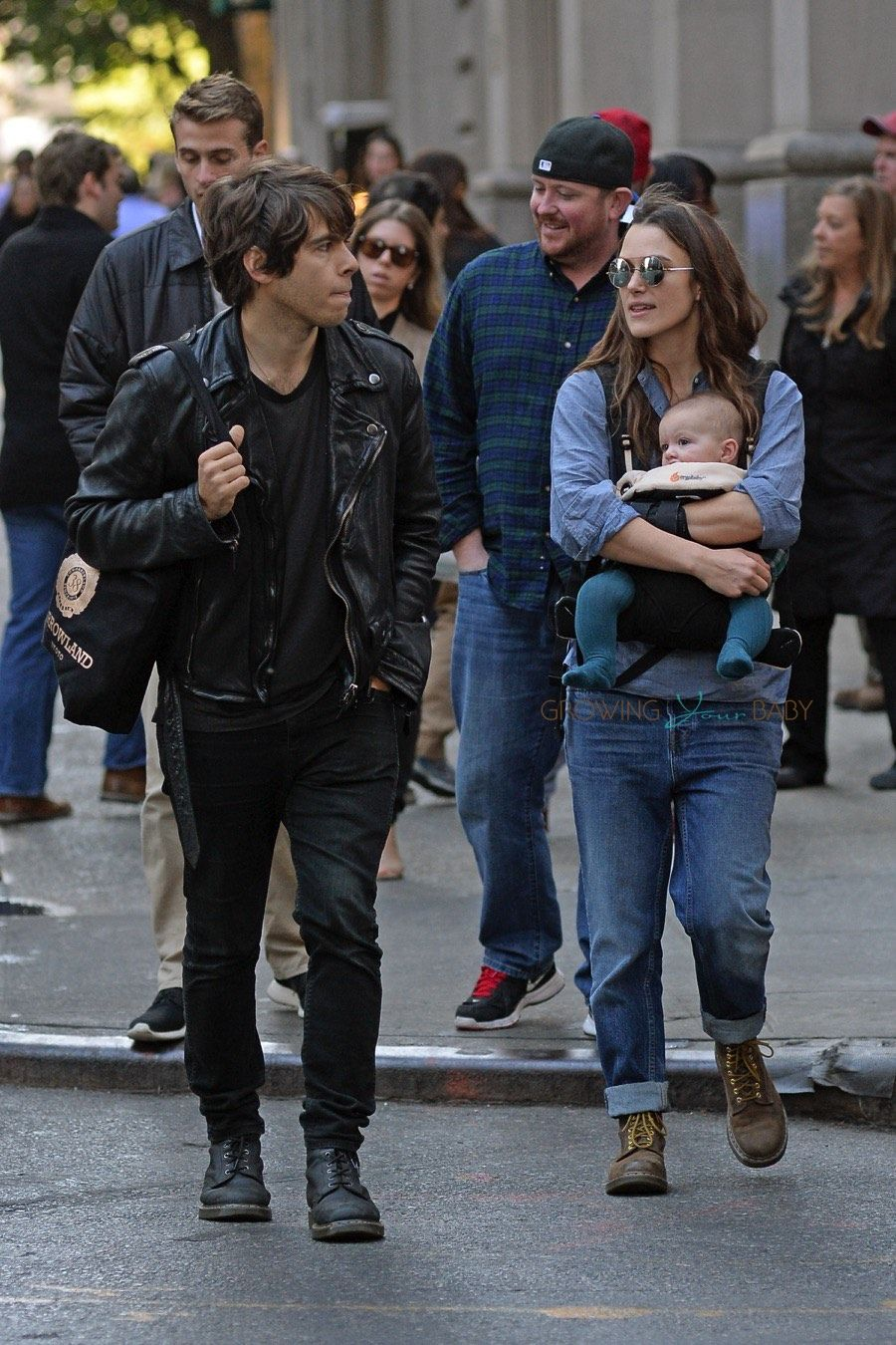 Keira Knightley and James Righton snuggle up in NY