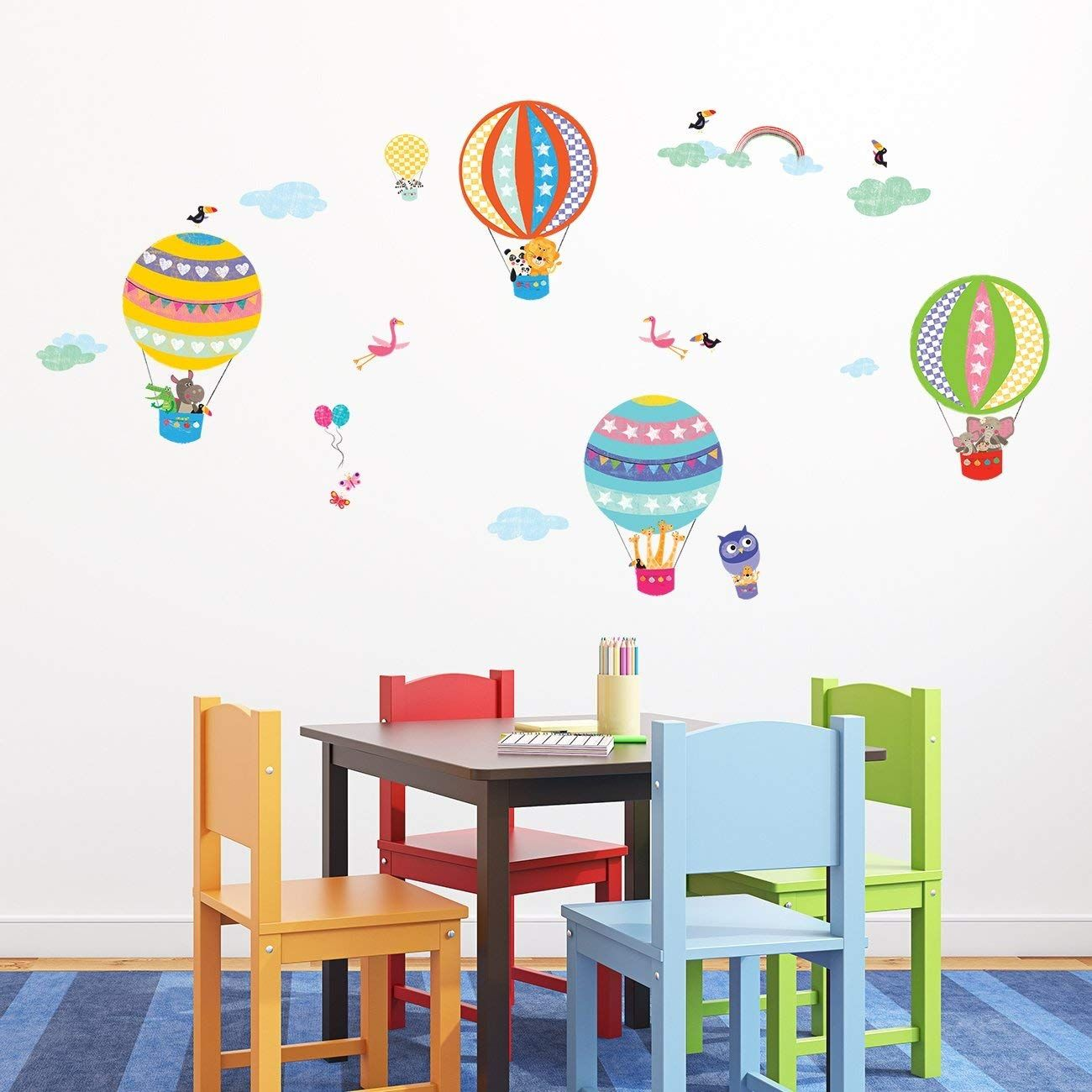 Kinderzimmer Wandsticker Wandsticker Kinderzimmer Tiere