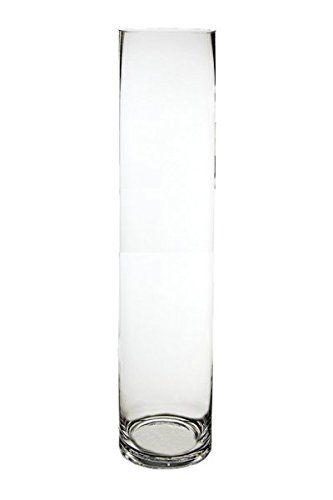 Cys Cylinder Vase Bulk Tall Cylinder Vases H24 D5 4 Pcs For More
