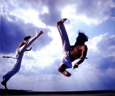 Capoeira Capoeira Foto Effects Luta