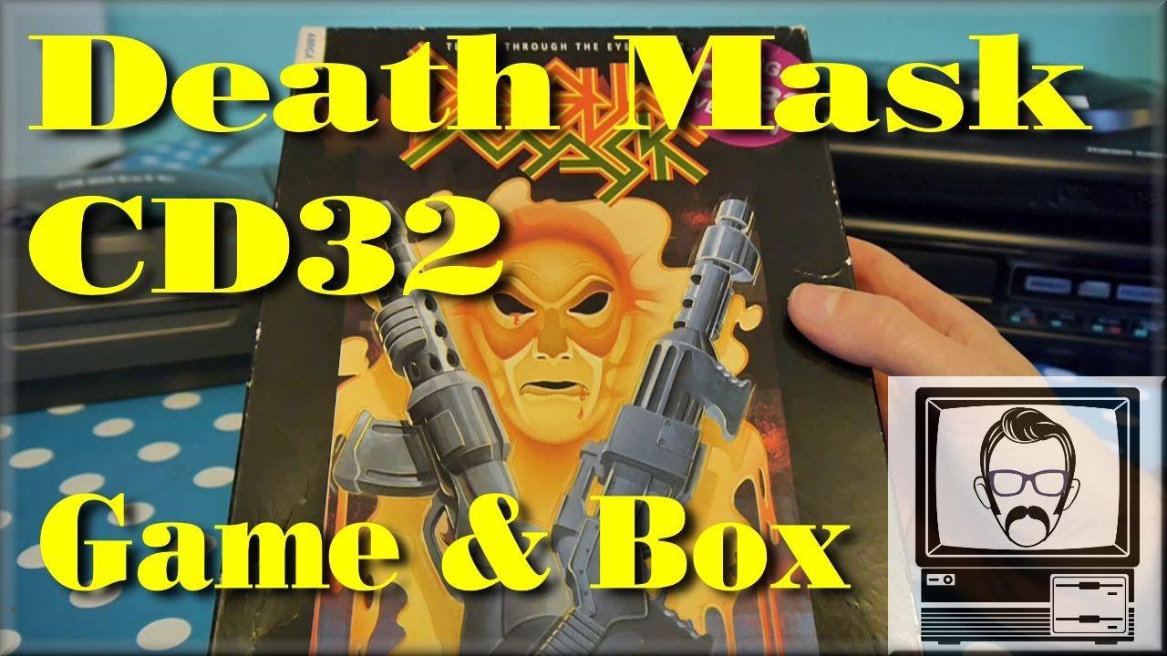Deathmask Amiga Cd32 Game Box Nostalgia Nerd Nostalgia