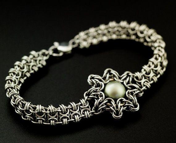 Our Enya Bracelet it a unique and original design combining a ...