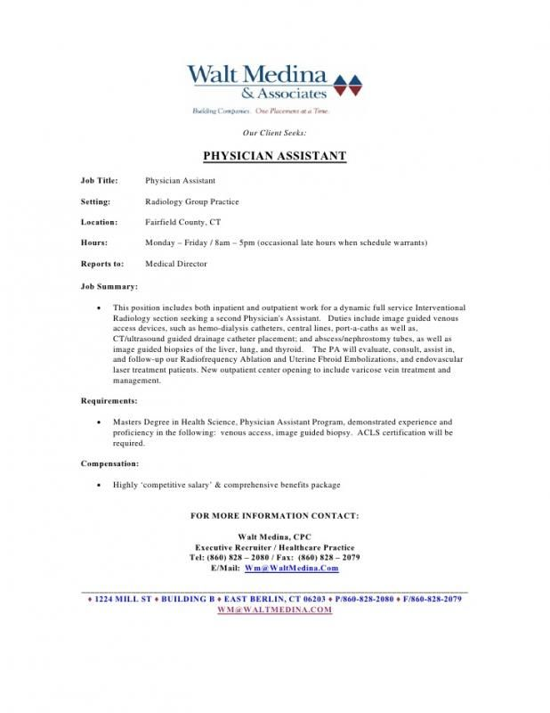 Medical Assistant Resume Template template Pinterest Medical