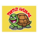 Turtley Awesome Postcard  Turtley Awesome Postcard  $1.30  by NewSignCreation   More Designs http://bit.ly/2g4mwV2 #zazzle