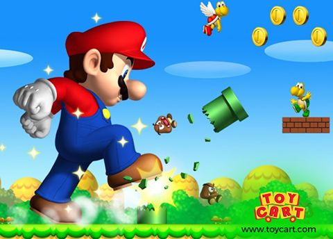 Remember this Game? Comment the Name! Super mario