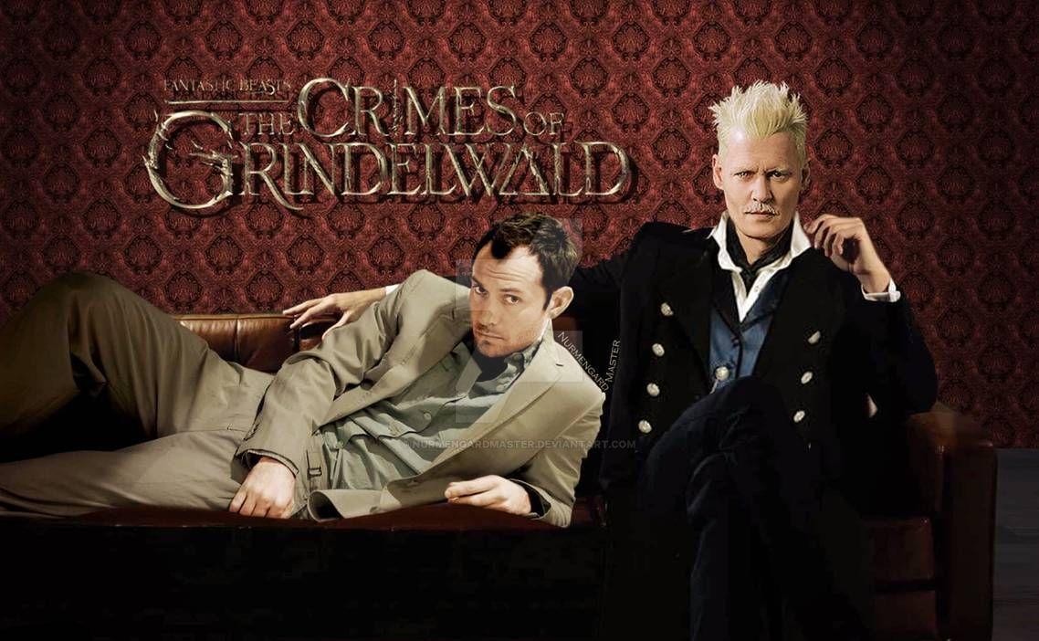 Grindelwald And Dumbledore Grindelwald Fantastic Beasts Fantasic Beasts