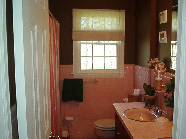 Pink And Brown Tile Bathroom Google Search Bathroom Remodel