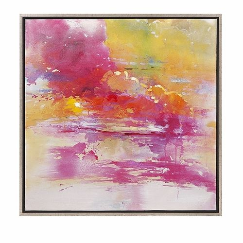This Alexa Oil on Canvas piece is a creation that follows that concealing motif to create a thing of sheer beauty.