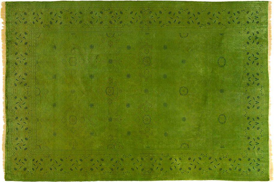 grün (-er) teppich by kiskan process hamburg, orientteppich ... - Teppich Wohnzimmer Grun