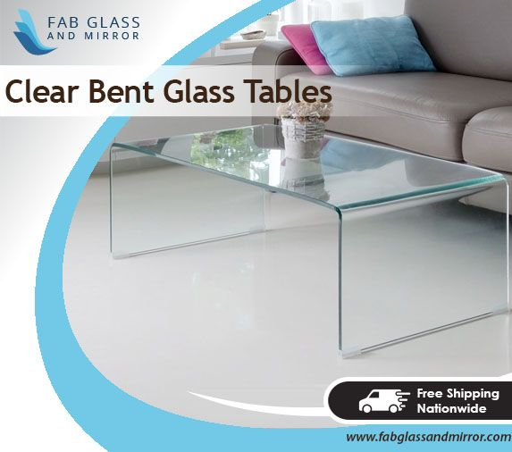 Clear Bent Glass Coffee Table In Just 308 99 Plus Freeshipping Coffee Table Clear Coffee Table Coffee Table With Storage